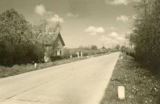 PB7557 Kijkje op de Boomweg, ca. 1955
