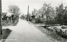 PB7651 Kijkje in de Korteweg, ca. 1956