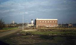 DIA01576 Brielle; ; Bouwterrein waar het Waterschapshuis zal verrijzen., 1973