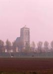 DIA01790 De St. Catharijnekerk, gezien vanaf de Schrijversdijk; 1979
