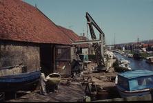 DIA02365 De scheepswerf van de gebr. Van der Torre; ca. 1984