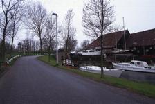 DIA02505 De scheepswerf Delta van Van der Torren, gezien vanaf het Scharloo; ca. 1991