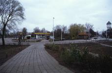 DIA02571 Het Shellstation langs de Rik; ca. 1991