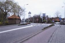 DIA02573 Brielle; ; De watertoren gezien vanaf De Rik, ca. 1991