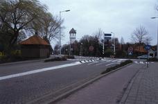 DIA02574 Brielle; ; De watertoren gezien vanaf De Rik, ca. 1991