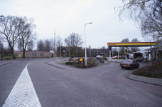 DIA02588 Het Shellstation langs de Rik; ca. 1991