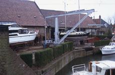 DIA02606 De scheepswerf Delta van Van der Torren, gezien vanaf het Scharloo; ca. 1991