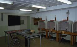 DIA30435 Interieur van de Biberbunker; ca. 1993