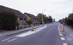 DIA35050 Woningen langs de Eeweg; ca. 1993