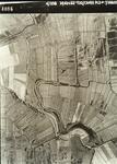 DIA40079 Spijkenisse; ; Luchtfoto van Spijkenisse met sporen van Middeleeuwse verkavelingspatronen , 1944