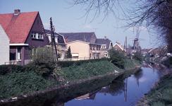 DIA40187 De Vierambachtenboezem gezien vanaf 1e Heulbrug; 3 mei 1969