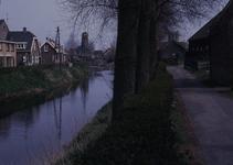 DIA40343 De molen gezien vanaf de Bermweg; 17 april 1973