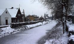 DIA40462 In de sneeuw; 30 december 1976