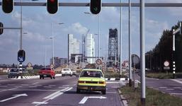 DIA40486 Spijkenisse; ; Aanbouw nieuwe Spijkenisserbrug, 17 september 1977