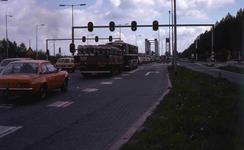 DIA40523 Spijkenisse; ; File voor de oude brug, 13 mei 1978