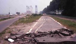 DIA40553 Spijkenisse; ; Nieuwe Spijkenisserbrug in gebruik, 16 september 1978