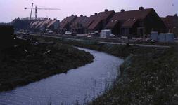 DIA40707 Bouw van De Hoek, gezien vanaf Breekade; 1 mei 1980