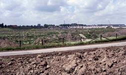 DIA41365 De bouw van de wijk Schenkel; 7 juli 1986