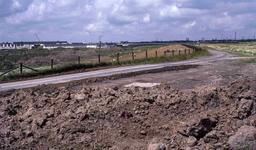 DIA41366 De bouw van de wijk Schenkel bij de Allemanshaven; 7 juli 1986