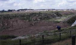 DIA41367 De bouw van de wijk Schenkel bij de Allemanshaven; 7 juli 1986
