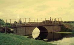 DIA41675 Heulbrug over de Vierambachtenboezem bij de Breekade; September 1963