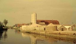 DIA41735 Spijkenisse; ; De betonfabriek van Alb. van Bodegom, 1963