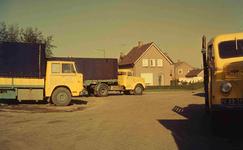 DIA41785 Wagens van transportbedrijf De Rijke; 1963