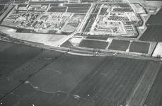 DIA41867 Spijkenisse; ; Luchtfoto van de wijk Schiekamp in aanbouw, 1963