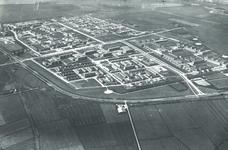 DIA41868 Spijkenisse; ; Luchtfoto van de wijk Schiekamp in aanbouw, 1963