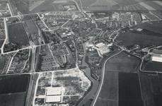 DIA41872 Spijkenisse; ; Luchtopnamen van het Centrum, 1963