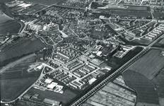 DIA41873 Spijkenisse; ; Luchtopname van het Centrum, 1963