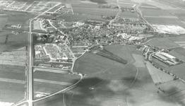DIA41874 Spijkenisse; ; Luchtopname in noordelijke richting van het Centrum, 1963