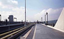 DIA42141 Metrostation Zalmplaat; 1985