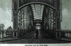 DIA42208 Spijkenisse; ; De Spijkenisserbrug, 1924