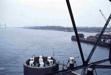 DIA42260 Spijkenisse; ; De nieuwe Spijkenisserbrug in aanbouw, ca. 1977