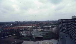 DIA42261 Spijkenisse; ; De Marrewijkflat, ca. 1980