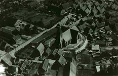 DIA42297 Spijkenisse; ; Luchtfoto van Spijkenisse in de jaren dertig, ca. 1960