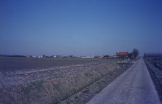 DIA68056 Voormalig woonhuis van de familie Hokke. Momenteel staat hier het fruitbedrijf van Johan en Karin Briggeman; 1978