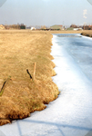 AB_GROENEWEG_002 Bevroren watering, gezien vanaf de Groeneweg; 1 februari 1996