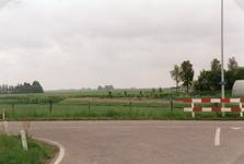 AB_HAASDIJK_020 De polder van Zuidland achter de Haasdijk gezien vanaf de Achterdijk in Abbenbroek; 29 juni 1999