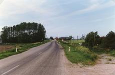 AB_HAASDIJK_022 De dijk van af het dorp Simonshaven gezien richting Biert / Zuidland; 1989