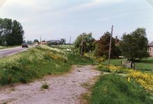 AB_HAASDIJK_023 De dijk van af het dorp Simonshaven gezien richting Biert / Zuidland; 1989