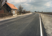 AB_HAASDIJK_024 De Haasdijk met een nieuwe asfaltlaag; 1995