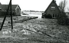 AB_WATERSNOODRAMP_020 Woning van de schoonouders Noordermeer van I. v/d Hoonaard; 1 februari 1953