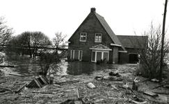 AB_WATERSNOODRAMP_021 Woningen en tuinderij; 1 februari 1953