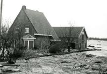 AB_WATERSNOODRAMP_035 Woningen en tuinderij; 1 februari 1953