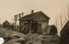 AB_WATERSNOODRAMP_051 Woning van de familie Herrewijnen aan de Haasdijk; ca. 4 februari 1953