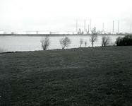 BR_BRIELSEMEER_100 Het recreatiegebied langs het Brielse Meer, bij de Krabbeweg voor de aanleg van het golfterrein ...
