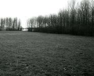 BR_BRIELSEMEER_111 Brielle; Het recreatiegebied langs het Brielse Meer, bij de Krabbeweg voor de aanleg van het ...