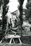 BR_DERIK_HUISTERUGGE_018 Afbraak van het Huis te Rugge; 1968